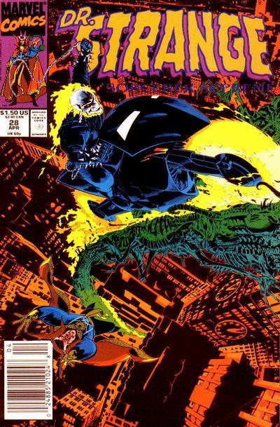 Cover for Doctor Strange, Sorcerer Supreme (Marvel, 1988 series) #28