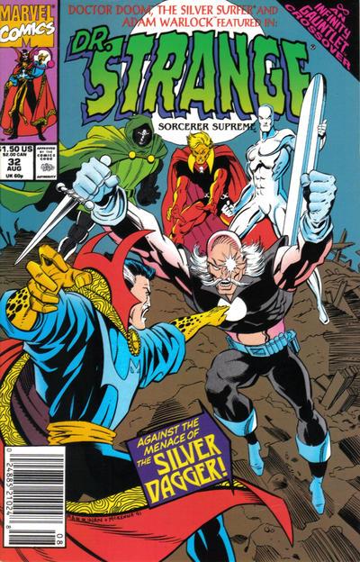 Cover for Doctor Strange, Sorcerer Supreme (Marvel, 1988 series) #32