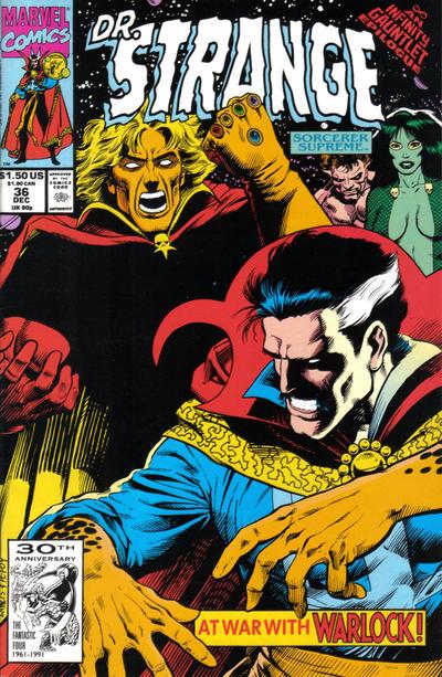 Cover for Doctor Strange, Sorcerer Supreme (Marvel, 1988 series) #36 [Direct Edition]