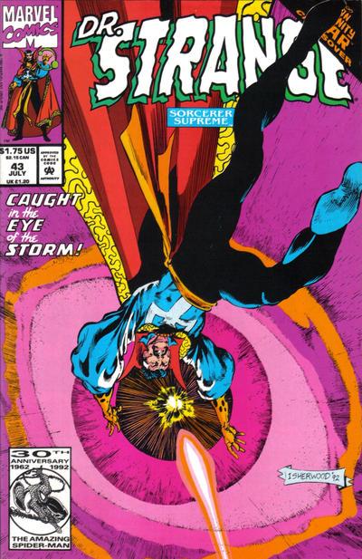 Cover for Doctor Strange, Sorcerer Supreme (Marvel, 1988 series) #43 [Direct Edition]