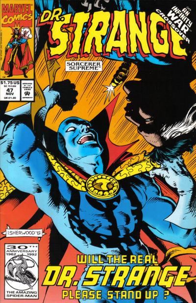 Cover for Doctor Strange, Sorcerer Supreme (Marvel, 1988 series) #47 [Direct Edition]