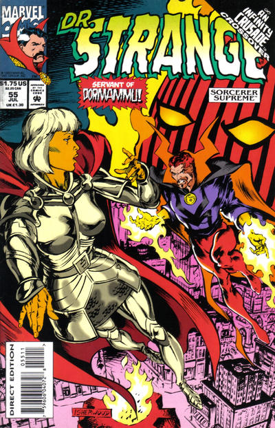 Cover for Doctor Strange, Sorcerer Supreme (Marvel, 1988 series) #55