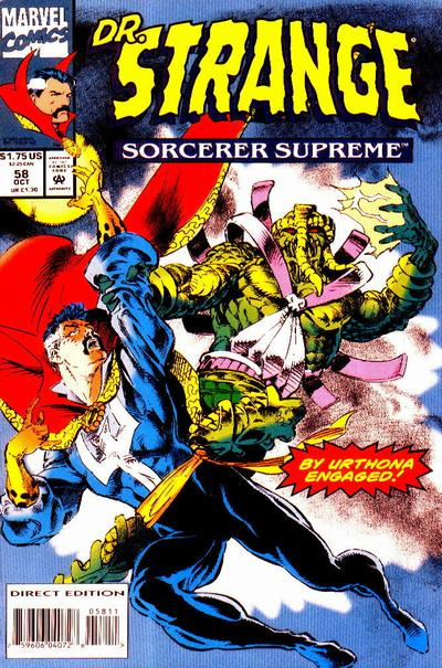 Cover for Doctor Strange, Sorcerer Supreme (Marvel, 1988 series) #58
