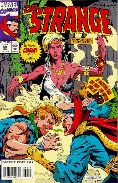 Cover for Doctor Strange, Sorcerer Supreme (Marvel, 1988 series) #59
