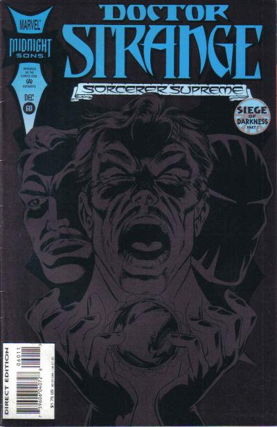 Cover for Doctor Strange, Sorcerer Supreme (Marvel, 1988 series) #60