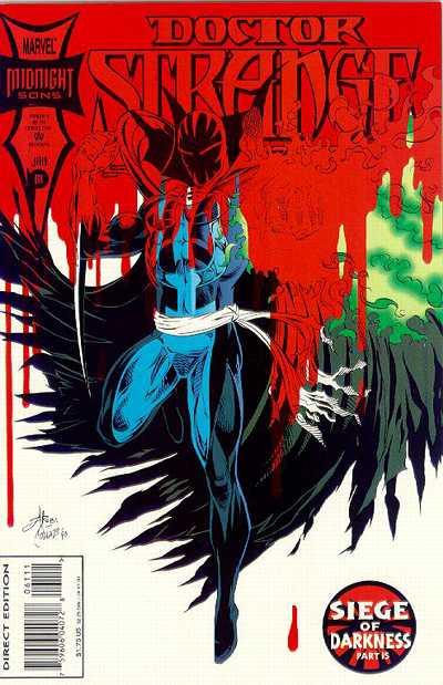 Cover for Doctor Strange, Sorcerer Supreme (Marvel, 1988 series) #61