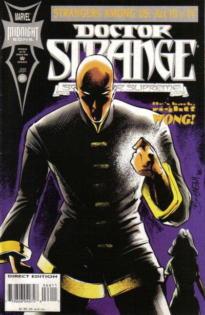 Cover for Doctor Strange, Sorcerer Supreme (Marvel, 1988 series) #66
