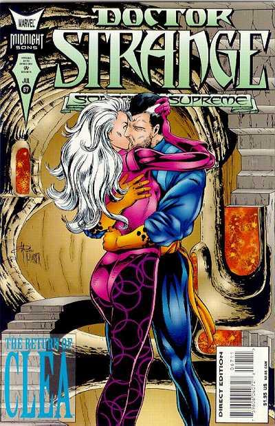 Cover for Doctor Strange, Sorcerer Supreme (Marvel, 1988 series) #67
