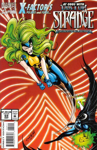 Cover for Doctor Strange, Sorcerer Supreme (Marvel, 1988 series) #69