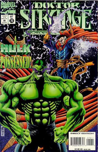 Cover for Doctor Strange, Sorcerer Supreme (Marvel, 1988 series) #70
