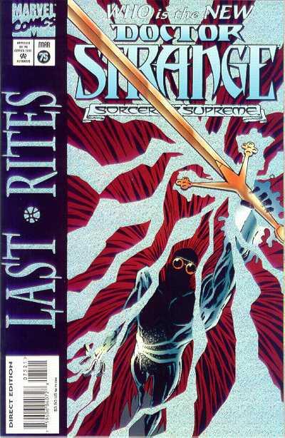 Cover for Doctor Strange, Sorcerer Supreme (Marvel, 1988 series) #75