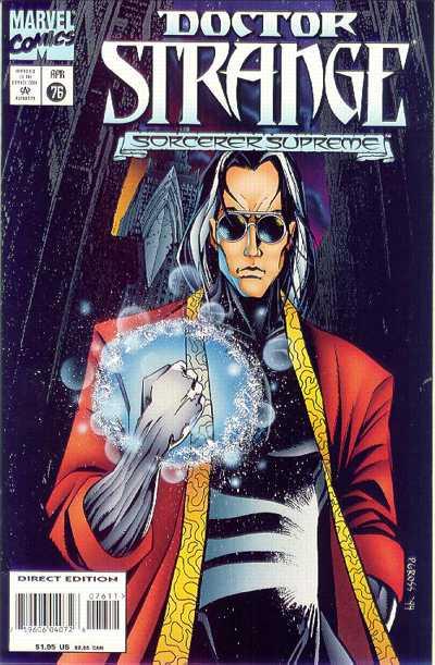 Cover for Doctor Strange, Sorcerer Supreme (Marvel, 1988 series) #76