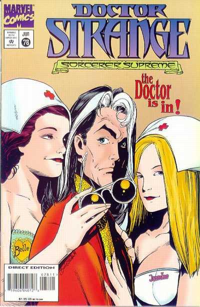 Cover for Doctor Strange, Sorcerer Supreme (Marvel, 1988 series) #78