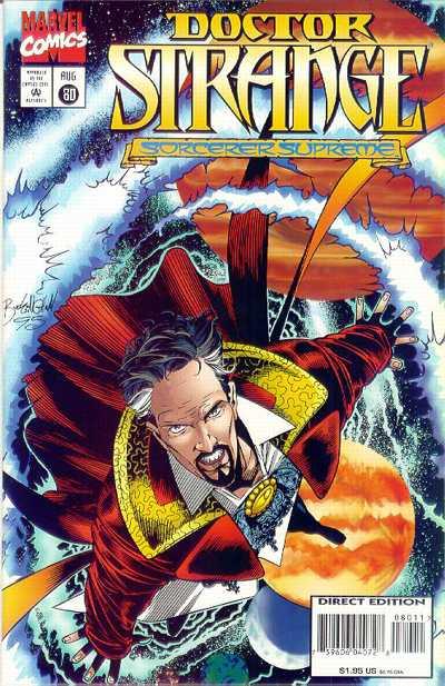 Cover for Doctor Strange, Sorcerer Supreme (Marvel, 1988 series) #80