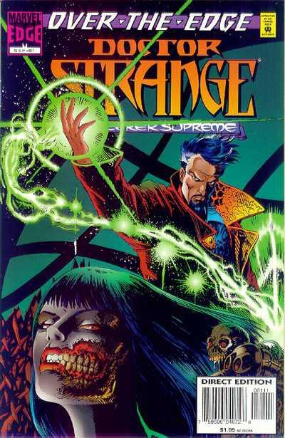 Cover for Doctor Strange, Sorcerer Supreme (Marvel, 1988 series) #81