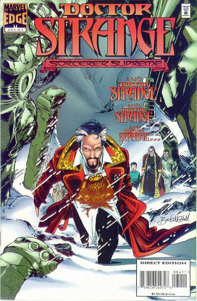 Cover for Doctor Strange, Sorcerer Supreme (Marvel, 1988 series) #84