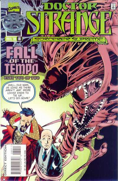 Cover for Doctor Strange, Sorcerer Supreme (Marvel, 1988 series) #89