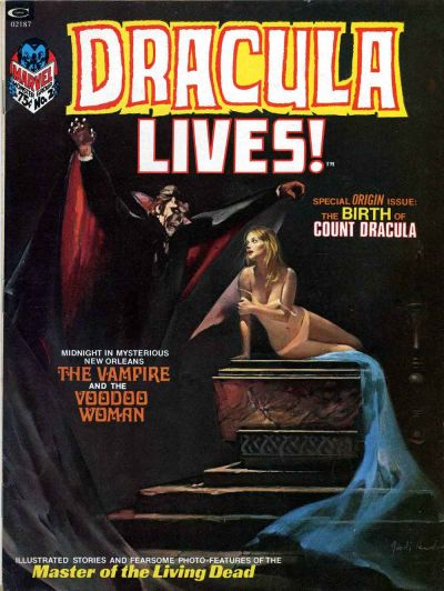 Cover for Dracula Lives (Marvel, 1973 series) #2