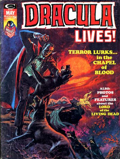 Cover for Dracula Lives (Marvel, 1973 series) #6