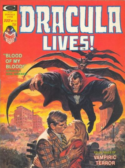 Cover for Dracula Lives (Marvel, 1973 series) #13