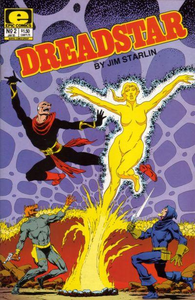 Cover for Dreadstar (Marvel, 1982 series) #2
