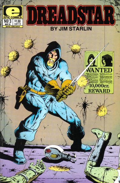 Cover for Dreadstar (Marvel, 1982 series) #3
