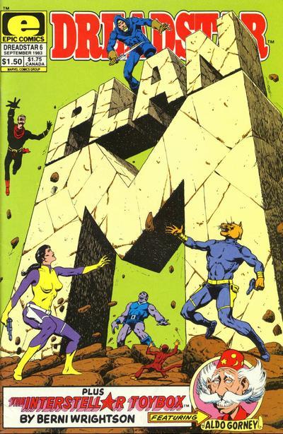 Cover for Dreadstar (Marvel, 1982 series) #6
