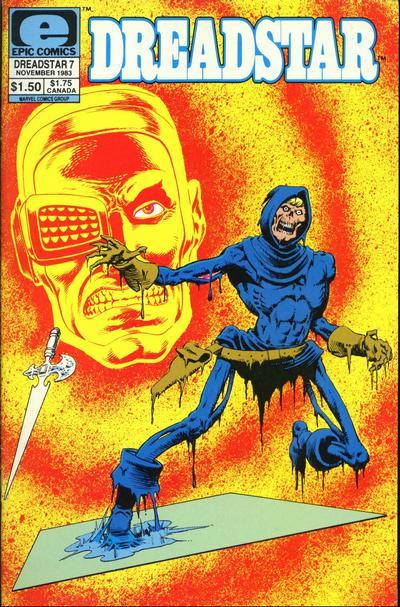 Cover for Dreadstar (Marvel, 1982 series) #7