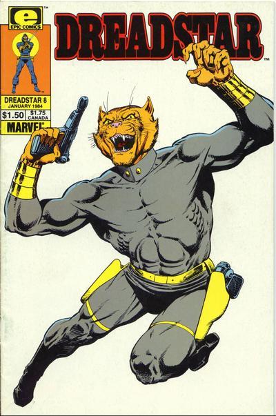 Cover for Dreadstar (Marvel, 1982 series) #8