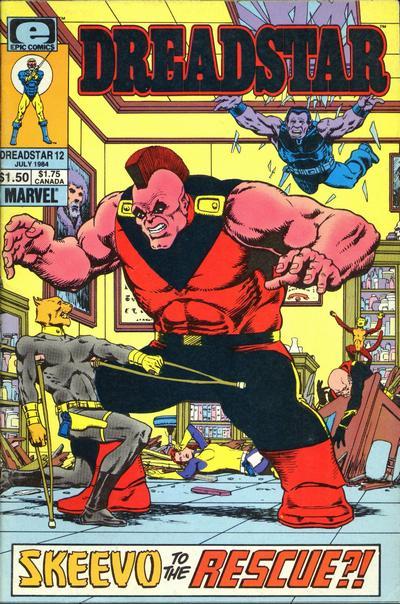 Cover for Dreadstar (Marvel, 1982 series) #12