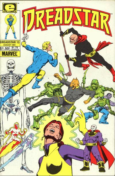 Cover for Dreadstar (Marvel, 1982 series) #13