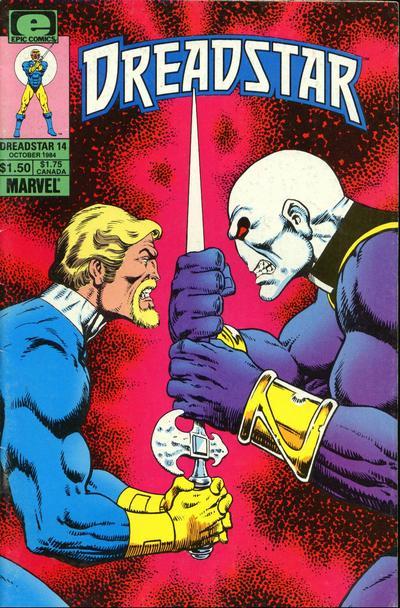 Cover for Dreadstar (Marvel, 1982 series) #14