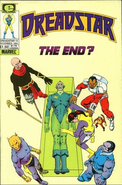 Cover for Dreadstar (Marvel, 1982 series) #15