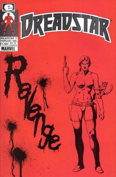 Cover for Dreadstar (Marvel, 1982 series) #17