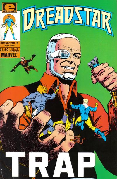 Cover for Dreadstar (Marvel, 1982 series) #19