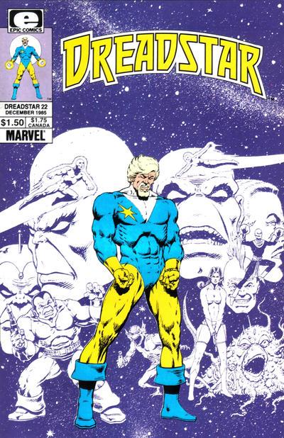Cover for Dreadstar (Marvel, 1982 series) #22
