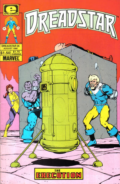 Cover for Dreadstar (Marvel, 1982 series) #26