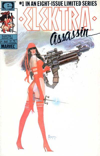 Cover for Elektra: Assassin (Marvel, 1986 series) #1