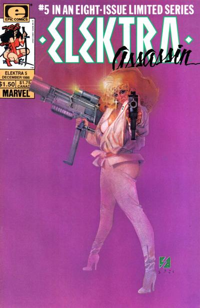 Cover for Elektra: Assassin (Marvel, 1986 series) #5