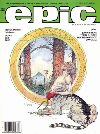 Cover for Epic Illustrated (Marvel, 1980 series) #28
