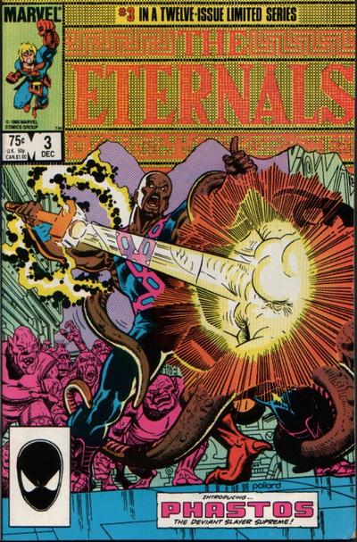 Cover for Eternals (Marvel, 1985 series) #3 [Direct]