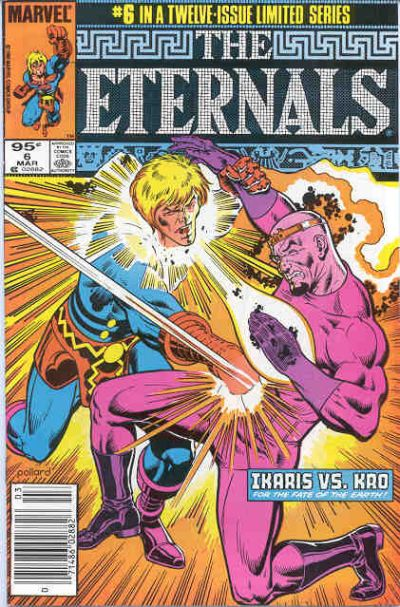 Cover for Eternals (Marvel, 1985 series) #6 [Canadian]