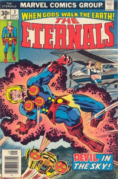 Cover for The Eternals (Marvel, 1976 series) #3 [Regular Edition]