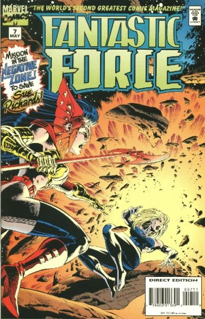 Cover for Fantastic Force (Marvel, 1994 series) #7