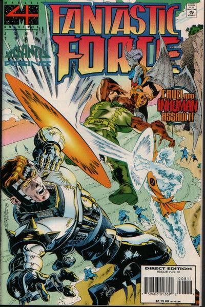 Cover for Fantastic Force (Marvel, 1994 series) #8
