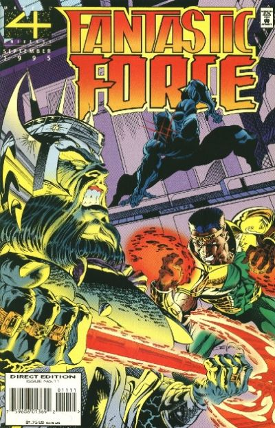Cover for Fantastic Force (Marvel, 1994 series) #11