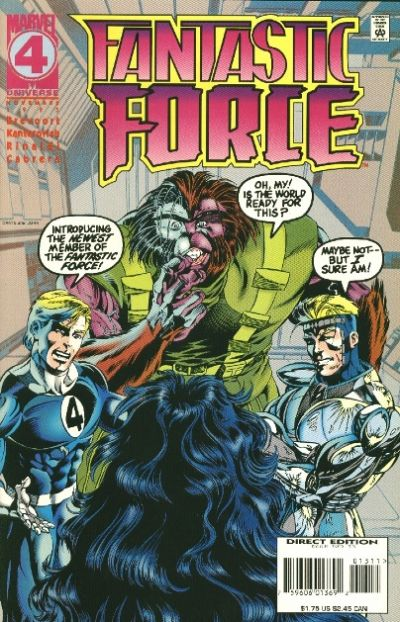 Cover for Fantastic Force (Marvel, 1994 series) #13