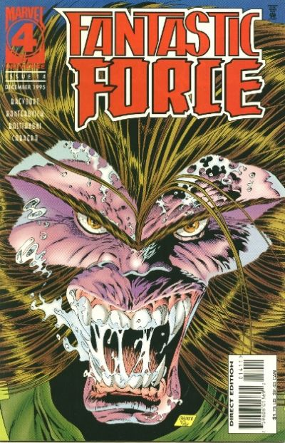 Cover for Fantastic Force (Marvel, 1994 series) #14