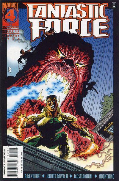 Cover for Fantastic Force (Marvel, 1994 series) #15