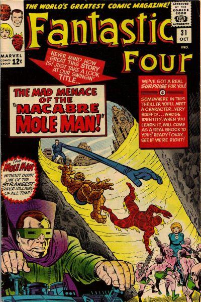 Cover for Fantastic Four (Marvel, 1961 series) #31 [Regular Edition]